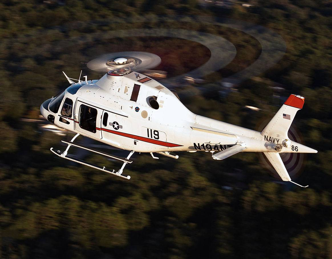 The TH-73A Advanced Helicopter Training System will replace the 35-year-old TH-57 training system to meet advanced rotary wing and intermediate tilt-rotor training requirements for the U.S. Navy, Marine Corps, and Coast Guard through 2050. U.S. Naval Air Systems Command Photo