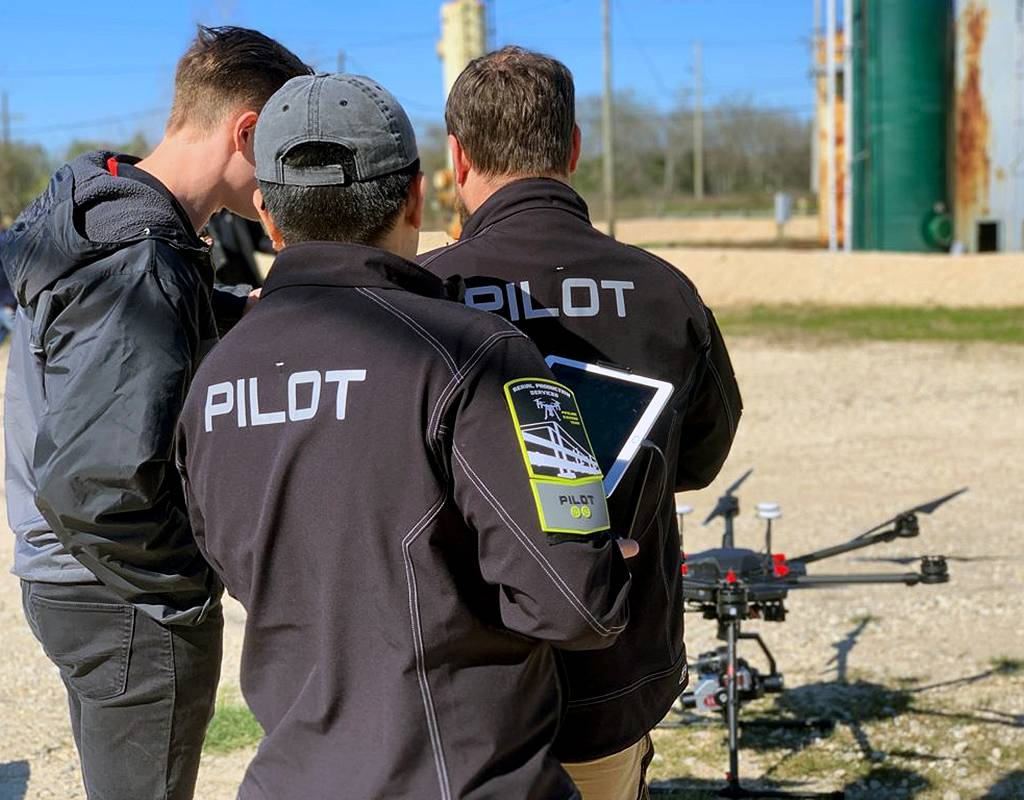 APS, a drone service provider for telecommunications, natural gas and oil, and construction industries, has flown over 17,000 sites in 49 states. APS Photo