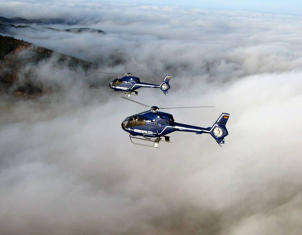 The Bundespolizei currently operates ten H120 helicopters for training missions. Bundespolizei Photo