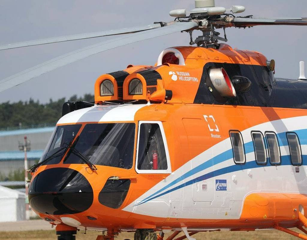 Mi-171A3 is the first Russian helicopter designed for offshore operations and maintenance of offshore drilling platforms. Rostec Photo