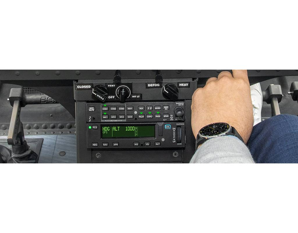 Garmin's GFC 600H flight control system provides a cost-effective flight control solution that reduces pilot workload and improves mission effectiveness. Garmin Photo