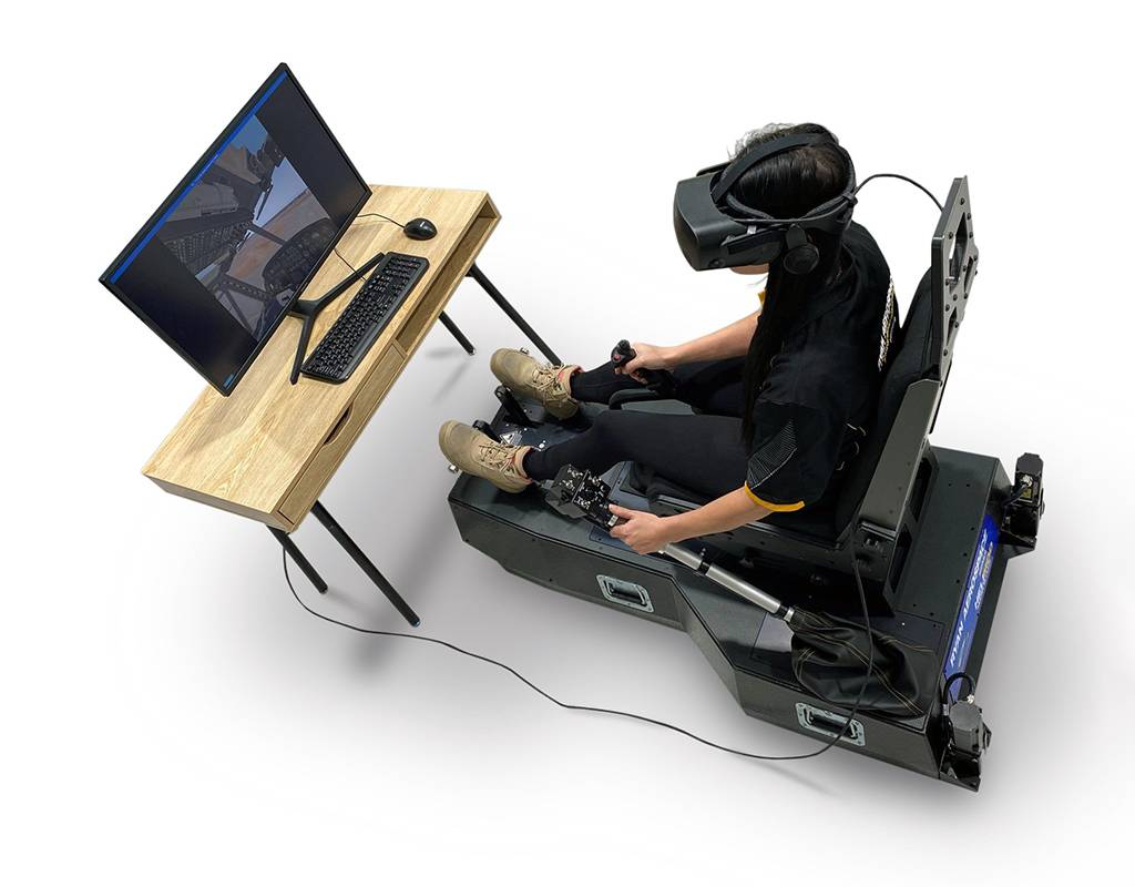 Ryan Aerospace's simulators have a small footprint and are reconfigurable to virtually any aircraft type. Ryan Aerospace Photo