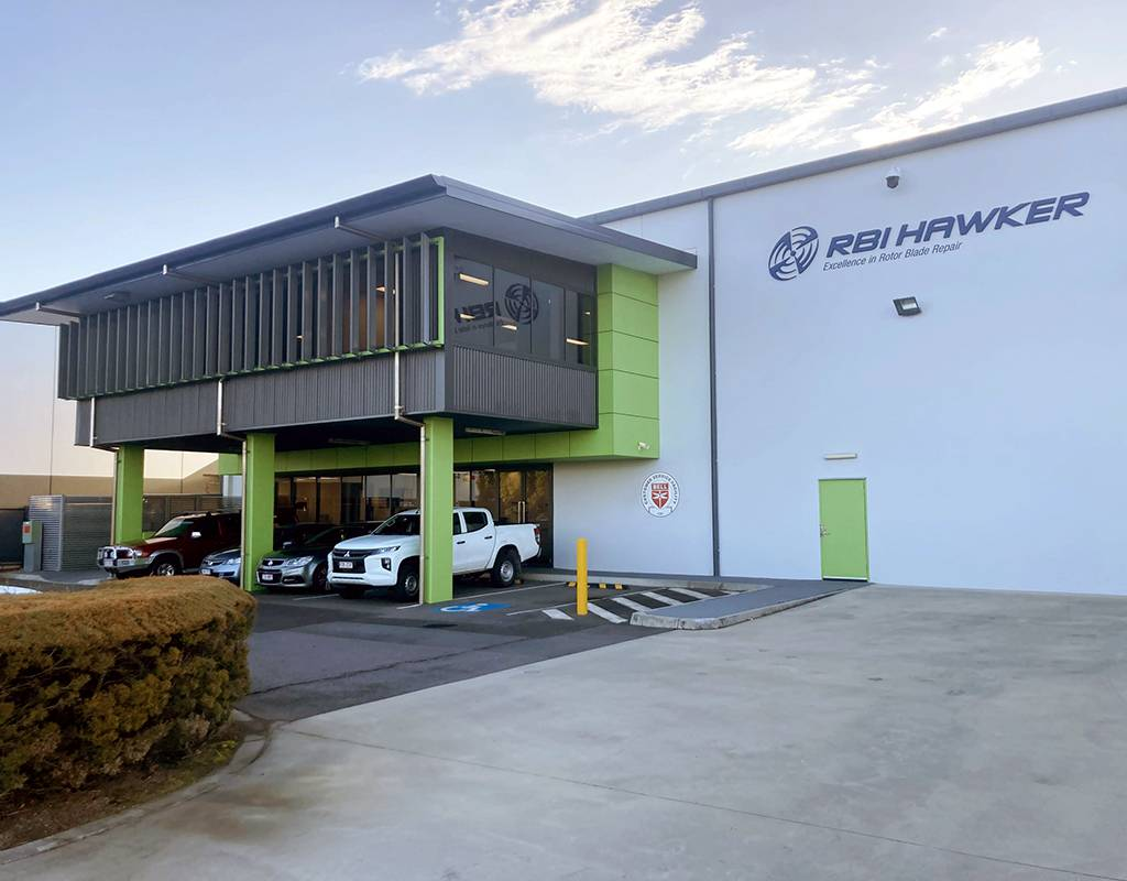 Based in Eagle Farm, Brisbane,RBI Hawker Limited is a joint venture between Hawker Pacific Airservices Ltd and Bell. Bell Photo