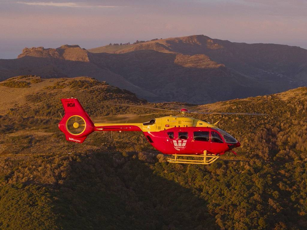 The two H145s that Airbus has delivered to New Zealand for emergency medical services are the first two H145 helicopters in EMS configuration in the New Zealand market. GCH Aviation Photo