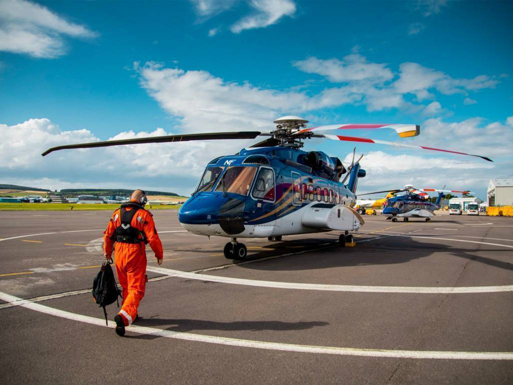 Babcock will continue to support oil-and-gas operators Total and CNOOC Petroleum Europe Limited, and will add a Sikorsky S-92 helicopter to each company's flight operations. Babcock Photo