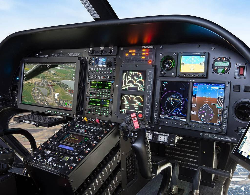 Eagle's P139-HD Digital Audio System ties the communication systems together for a single point of control that is tailored specifically to the mission. Eagle Copters Photo