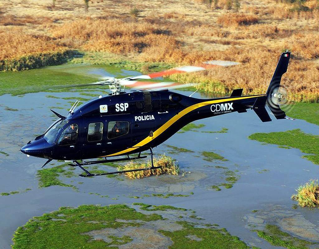 The Bell 429 offers customers a wide cabin, optimal for fitting two stretchers and six people total. Bell Photo