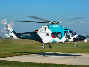 During the trial with Air Ambulance Kent Surrey and Sussex, live video was used to send a HEMS team on five occasions, and to stand down a team on 14 others. AAKSS Photo