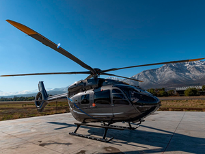 The objective of the high altitude flight campaign for the new five-bladed H145 is to expand the flight envelope of the new helicopter and demonstrate its capabilities at high altitudes. Rodrigo Ocharán Photo
