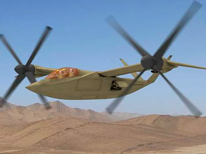 Karem Aircraft, Northrop Grumman Corporation, and Raytheon Company are teaming up to execute the U.S. Army FARA CP development contract. The image shown is not a graphic of the FARA design, but rather the Karem concept for the FVL CapSet 3 attack variant. The two designs may conceptually look similar in appearance. Karem Aircraft Image