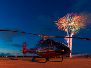 One of America's largest helicopter fly-ins is now part of America's Freedom Fest Air Show and fireworks display. Rotors 'n Ribs Photo