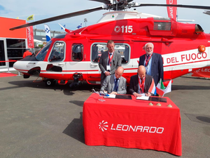 Based in The Netherlands, SPECTO Aerospace will deliver main and tail rotor blade repair for the growing fleet of AW109 and AW139 types. Leonardo Photo