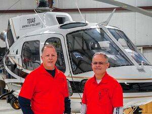 David (left) and Danny Brigham, the co-owners and president and vice president, respectively, of AeroBrigham. Mike Reyno Photo