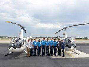 The acquisition of two R44 helicopters is part of an overall effort by the Philippine government to strengthen and expand its law enforcement. Robinson Photo