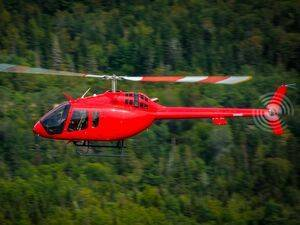 The Garmin GFC 600H is an attitude and heading reference system-derived flight control system that boasts a number of helicopter-tailored features. Bell Photo