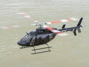 The FAA has issued an instrument flight rules STC for the Bell 407GXi. Bell has bid the 407GXi for the U.S. Navy Advanced Helicopter Training System competition. Bell Photo