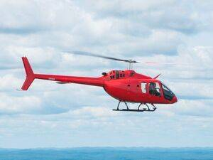 Hubi-Fly Helikopter GmbH has received the 200th Bell 505 Jet Ranger X, and will use the aircraft for corporate transport. Bell Photo
