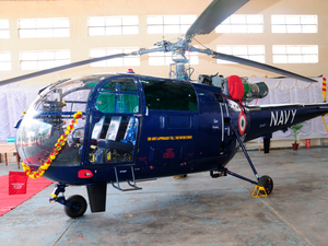 HAL has so far produced more than 350 Chetak helicopters and delivered around 80 to the Indian Navy. HAL Photo