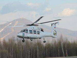 The Ka-62 is making its debut at the air show. Russian Helicopters Photo