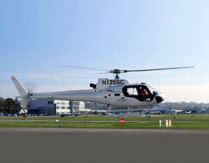 Testing of the industry's first 4-axis autopilot flight test for Airbus AS350 and H125 helicopters will continue throughout this winter at StandardAero's Langley, British Columbia, Canada facility. Thales Group Photo