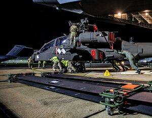 The first two new Apache attack helicopters arrived at Wattisham Flying Station on November 26 with aviation technicians from 7 Aviation Support Battalion, Royal Electrical and Mechanical Engineers (7 Avn Spt Bn REME), who will maintain and service the new aircraft. British Army Photo