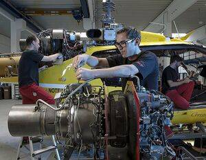 HeliAir's technicians currently service around 130 Safran engines from 55 customers in Central and Eastern Europe, Russia, Kazakhstan, the Ukraine and other CIS countries. ÖAMTC/Postl Photo
