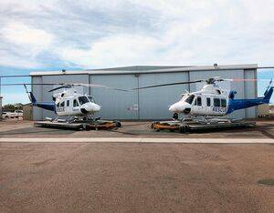 A funding boost from the Queensland Government will provide a second dedicated mission-modified Bell 412 helicopter under Babcock's contract. Babcock Photo