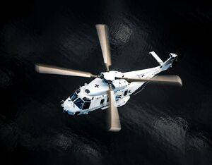 GKN Aerospace's involvement in NH90 helicopter ranges from tail to landing gear and after-market. GKN Aerospace Photo