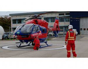 Since 1992, Devon Air Ambulance has provided emergency pre-hospital medical services, training, research and education for Devon and surrounding area. Devon Air Ambulance Photo