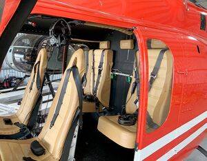 Developed as an attachment point for utility operations such as personal restraint harnesses during doors off flight operations, AeroBrigham's assembly is now FAA approved as a Supplemental Type Certificate (STC) component. AeroBrigham Photo