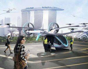 Eve will focus on delivering a 4-passenger air taxi, as well as its own urban air traffic management solution to market by the middle of the decade. Courtesy: Eve Air Mobility Solutions