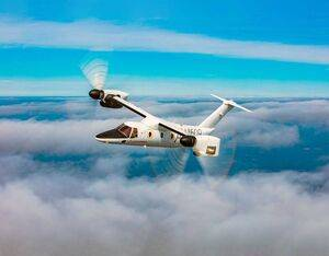 """With the first two production AW609 aircraft under assembly, Leonardo says it remains """"laser focused"""" on bringing the civil tilt rotor to market. Leonardo Photo"""