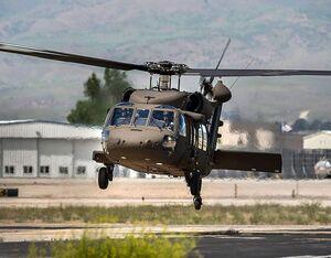 An Idaho Army National Guard UH-60 Black Hawk. Idaho Guard Photo