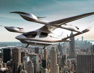 Beta says its Alia eVTOL will be more than 10 times quieter than a helicopter in flight and charge in less than 50 minutes. Beta Image