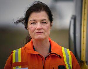 Critical care paramedic Joanne Gilbert. Terry Donnelly Photo