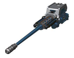 A digital rendering of Northrop Grumman's Future Vertical Lift (FVL) Sky Viper chain gun. Northrop Image