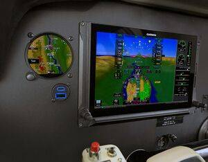 Garmin's new GSB 15 models include two USB ports that support up to 27W of power output per port simultaneously, allowing pilots and passengers to charge most mobile devices while they are using them. Garmin Photo