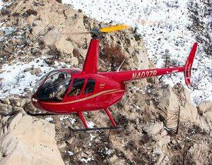 Robinson has delivered 13,000 helicopters since 1979. Robinson Photo
