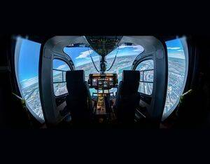 Safety Flight will use its Entrol H135 FTD Level 5 simulator for initial training, IFR and CPL courses and mission training for H135 operators. Entrol Photo