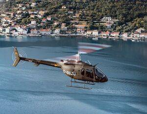 The Bell 505 recently delivered to the Montenegro Air Force. Bell Textron