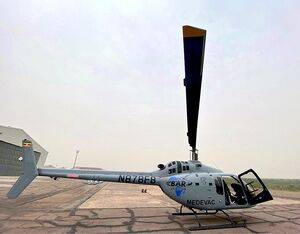 BAR Aviation's Bell 505 will support the work of the Ugandan Ministry of Health, Ministry of Tourism and the police. Bell Photo