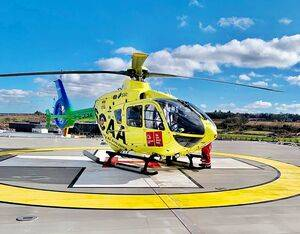 The new helipad located at the Royal Hospital for Children and Young People and the Department of Clinical Neuroscience (RHCYP/DCN) officially opened on Apr. 12. The HELP Appeal Photo
