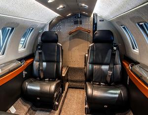 Air Charter Scotland Citation M2 interior
