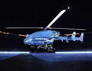 SwissDrones's SDO 50 V2 VTOL unmanned helicopter system has a payload capacity of 99 lbs (45 kg).