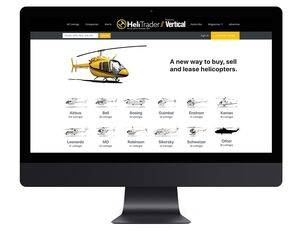 HeliTrader.com is due to go live in mid-November. MHM Publishing Image