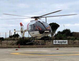 Kopter's SH09 P3 is now equipped with a modified main rotor head and next-gen main rotor blades. Kopter Photo