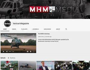 Vertical's YouTube channel features a wide variety of helicopter-focused content.