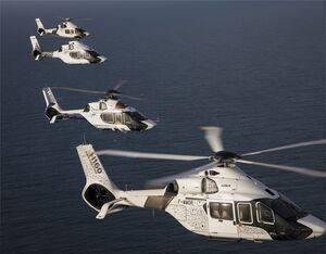 Airbus is preparing for the next stage of marketing the H160, with the type's certification imminent. Airbus Photo