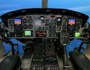 The RoadRunner EFI is an easy-to-install and cost-effective replacement for existing attitude director and horizontal situation indicator functionality to a modern electronic flight instrument system. Astronautics Photo
