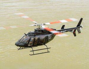 The Precise Flight Pulselite system will now be included as standard equipment on all new Bell 407GXi aircraft. Bell Photo